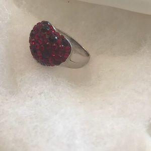 Valentines Swarovski ring